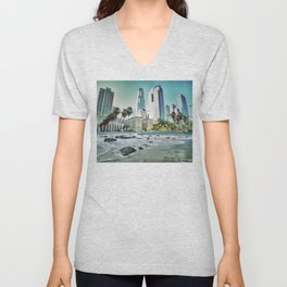 Surf City L.A. Unisex V-Neck