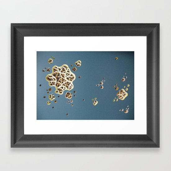 Drag-a-Diddle Cirrhosis Framed Art Print