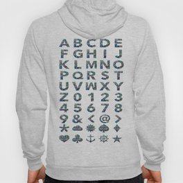 Alphabet Poster  Hoody