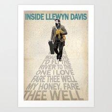 Inside Llewyn Davis Art Print