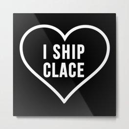 CLACE Metal Print