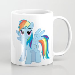happy rainbow unicorn Coffee Mug