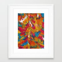 psychedelic Framed Art Prints featuring Psychedelic by DuckyB