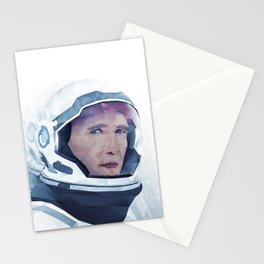 Interstellar Low Poly Poster Stationery Cards
