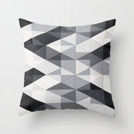 Geo Gradation Throw Pillow
