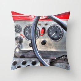 Steering & Dash Throw Pillow