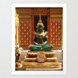 Buddha Thailand Art Print
