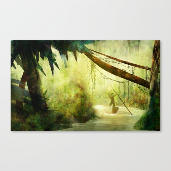 Morning Stroll Canvas Print