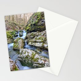 Up Moine Creek 3 Stationery Cards