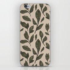 Leaf Pattern iPhone Skin