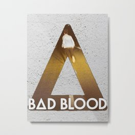 Bastille #1 Bad Blood Metal Print