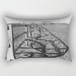 Field and Barrier Rectangular Pillow