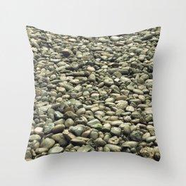 garden of stones Throw Pillow