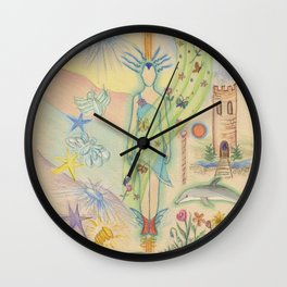 Delightful Experiences Wall Clock