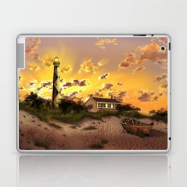 lighthouse landscape sky Laptop & iPad Skin