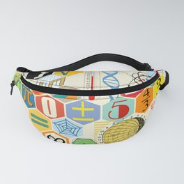 Math in color Fanny Pack