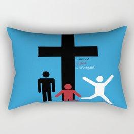 stickmen Rectangular Pillow