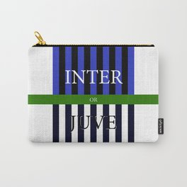 INTER or JUVE Carry-All Pouch