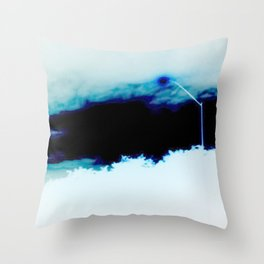 Night Flash Throw Pillow