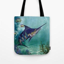 Awesome fantasy marlin Tote Bag
