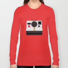 Polaroid One Step Land Camera Long Sleeve T-shirt