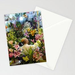 Old Flower Vendor Stationery Cards