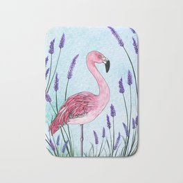 Chilean Flamingo Bath Mat