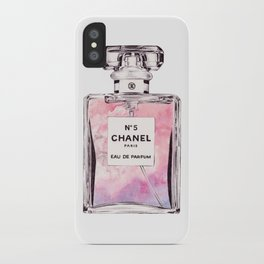 PERFUME No.5 PINK iPhone Case