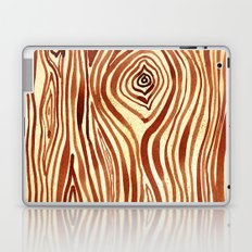 Woodgrain Watercolor Laptop & iPad Skin