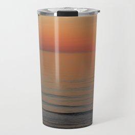 Symphony in Orange Ocean Sunrise Travel Mug