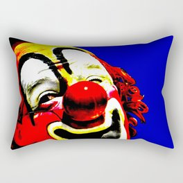 Ringling Bros. Barnum and Bailey Vintage Circus Clown Print Rectangular Pillow