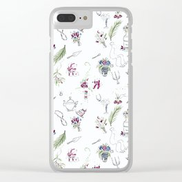 Bridal Shower Grace Clear iPhone Case