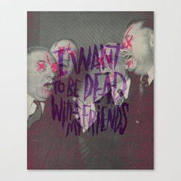 EVERY TIME I DIE Canvas Print