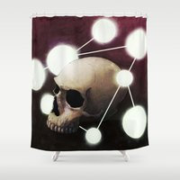 alchemy Shower Curtains featuring Alchemy by Fabrice Gagos