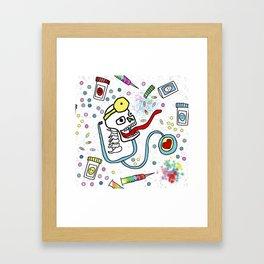 Dr. Feelgood Framed Art Print