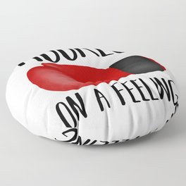 Hooked On A Feeling | Boxing Glove Floor Pillow