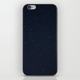 filling the darkness iPhone Skin