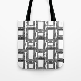 Antique Frame black and white #1 Tote Bag