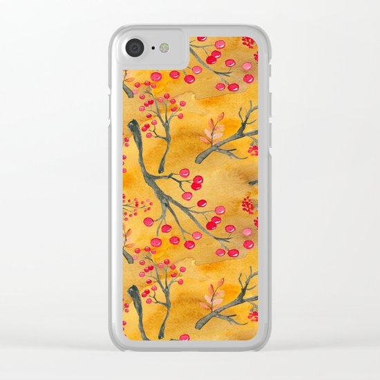 Autumn leaves #12 Clear iPhone Case