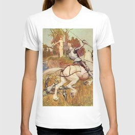 Jousting knights T-shirt