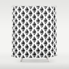 Ethereum - Crypto Fashion Art (Medium) Shower Curtain