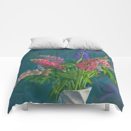 Dacha's Lupins Comforters