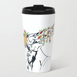 The Iron Bull Flower Crown Travel Mug