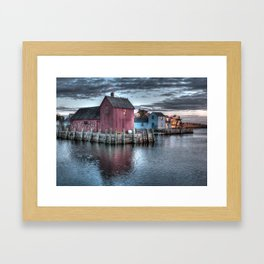 Dawn at Motif Number 1 Framed Art Print