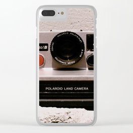 Pronto B Land Camera, 1977 Clear iPhone Case