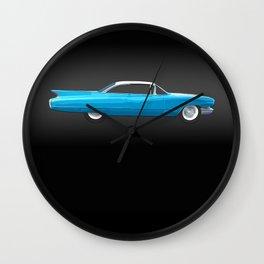 1960 Cadillac Coupe De Ville Wall Clock