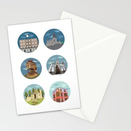 HP- Locations Stationery Cards
