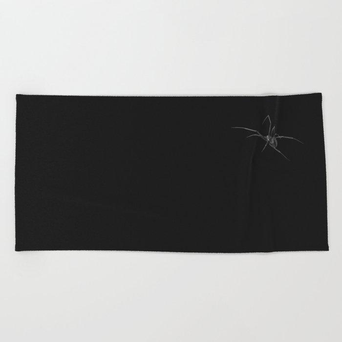 Black Widow Beach Towel