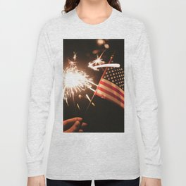 Happy America Long Sleeve T-shirt