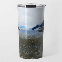 Columbia Icefields in Jasper National Park, Canada Travel Mug